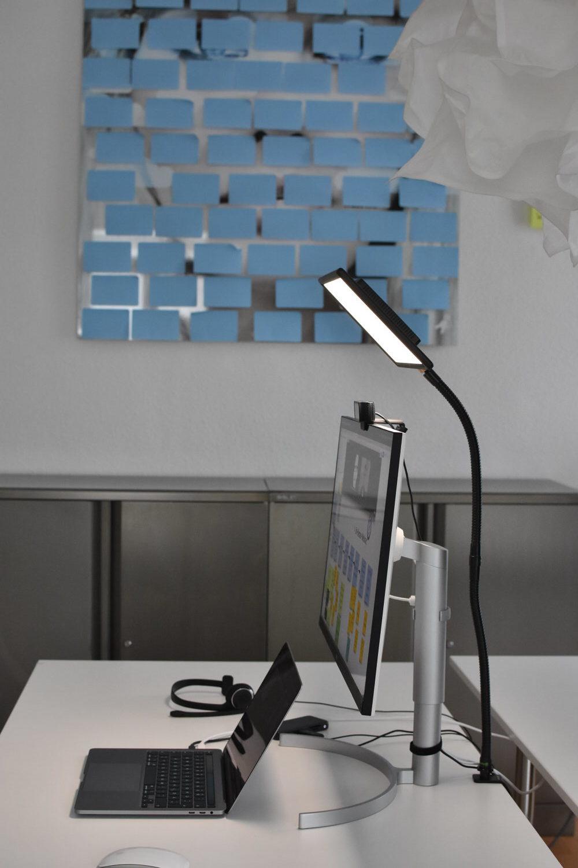 Licht für Videokonferenzen